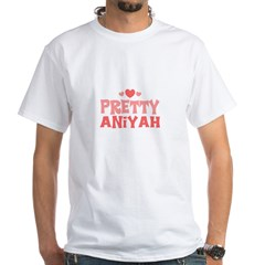 Aniyah White T-Shirt