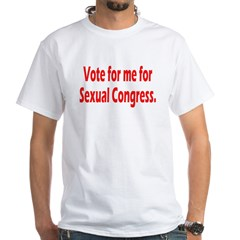 Sexual Congress White T-Shirt