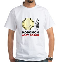 Kodomon Polo Shirt - Dojo Coach White T-Shirt