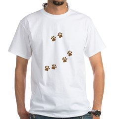 Labrador Mom White T-Shirt