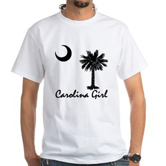 Carolina Girl White T-Shirt