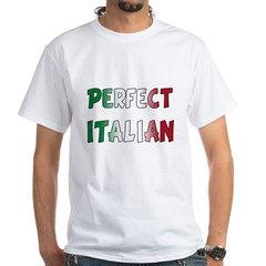 The Perfect Italian White T-Shirt