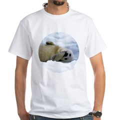 Harp Seal White T-Shirt