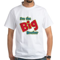 T I'm the Big Brother White T-Shirt