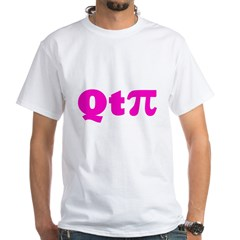 q-t-pie3 White T-Shirt