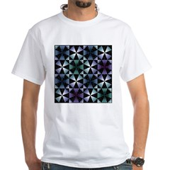 Kaleidoscope White T-Shirt