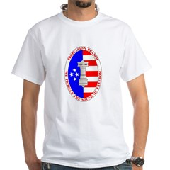 MILITARY (DARK) White T-Shirt