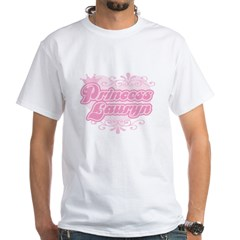 Princess Lauryn White T-Shirt
