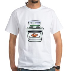 Bun in the Oven White T-Shirt