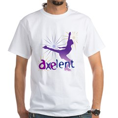 Ice Skating is Axelent White T-Shirt