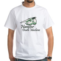 hamster death machine WEB.psd White T-Shirt