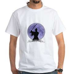 Samurai Spirit 1 White T-Shirt
