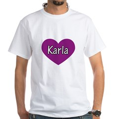 Karla White T-Shirt