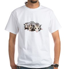 opossum White T-Shirt