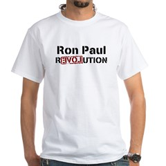 Ron Paul 2012 White T-Shirt