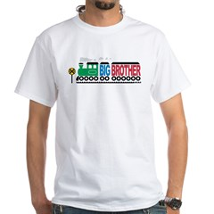 Big Brother Train White T-Shirt