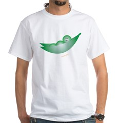 Sweet Pea White T-Shirt
