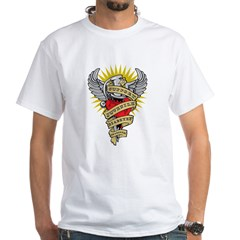 Juvenile Diabetes Dagger White T-Shirt