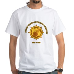 206th White T-Shirt