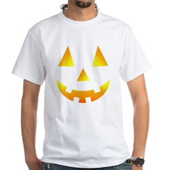 Halloween Baby Bump White T-Shirt