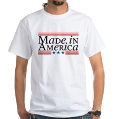 Made in America White T-Shirt