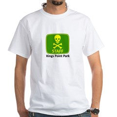 KP Park Staff White T-Shirt