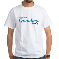 Soon to be Grandma White T-Shirt