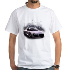 Joels car White T-Shirt