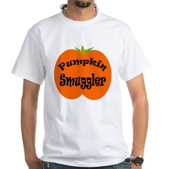 Pumpkin Smuggler White T-Shirt