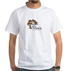 Sage Harbor White T-Shirt