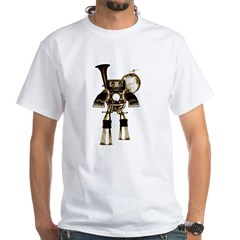 musicrobot_color.jpg White T-Shirt