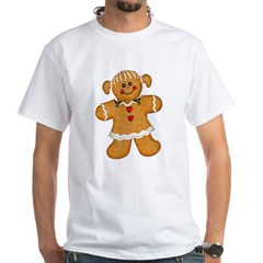 Gingerbread Woman White T-Shirt