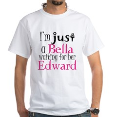 Bella Waiting For Edward White T-Shirt
