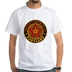 People's Republic of Portland White T-Shirt