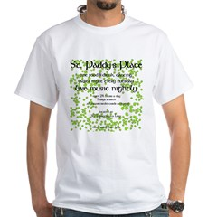 St. Paddy's Place White T-Shirt