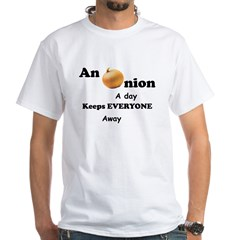 Onion A Day White T-Shirt