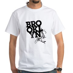 Brooklyn White T-Shirt