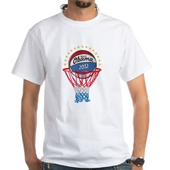 BASKETBALL SHIRT black White T-Shirt
