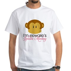 I'm Edward's Spider Monkey White T-Shirt