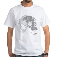 Skulls Double Time White T-Shirt