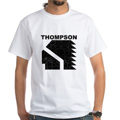 Thompson High Warriors White T-Shirt