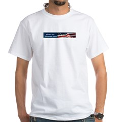 Conservative Pride White T-Shirt