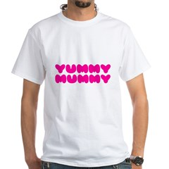 Yummy Mummy White T-Shirt