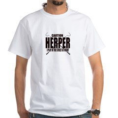 herper White T-Shirt