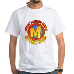 Super-Mo White T-Shirt