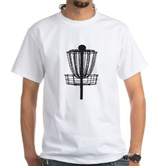 Disc Golf White T-Shirt