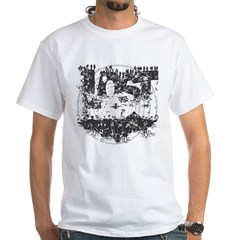 Island LOST Vintage White T-Shirt