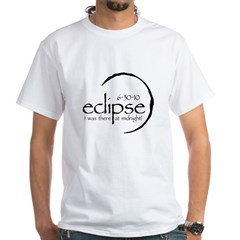 20x20eclipse63010Midnight White T-Shirt