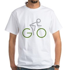 2-GO White T-Shirt
