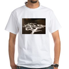 Three Crosses White T-Shirt